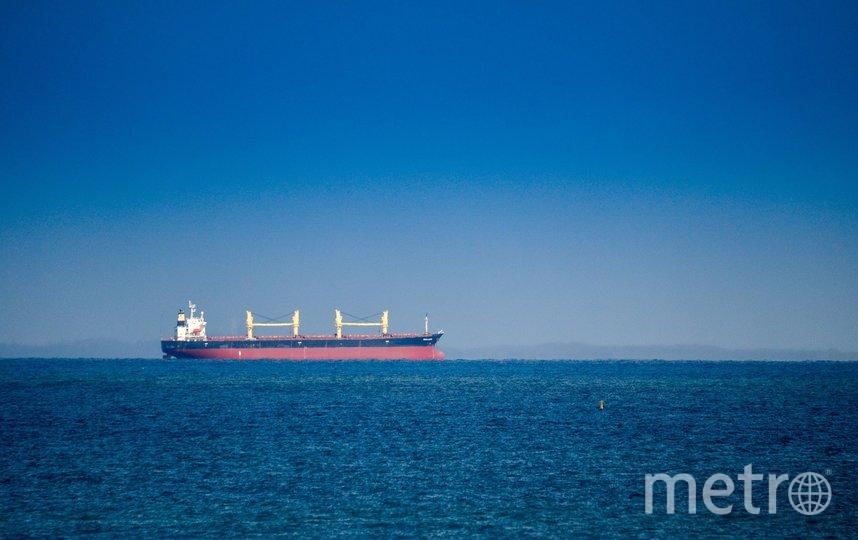 """Авария танкера в Одесском заливе привела к утечке нефти в Черном море. Фото Pixabay , """"Metro"""""""