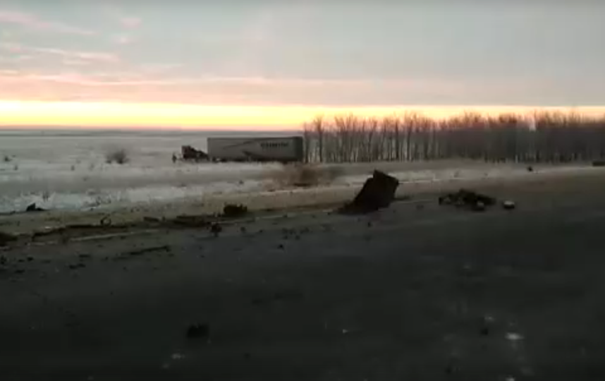 Шестеро человек погибли в результате крупного ДТП под Оренбургом. Фото скриншот видео vk.com/oren_oren