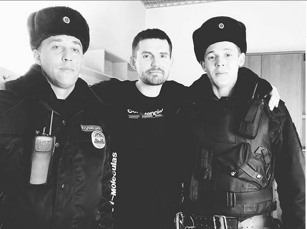 За употребление ненормативной лексики музыкантов оштрафовали на 500 рублей. Фото Instagram Noize MC