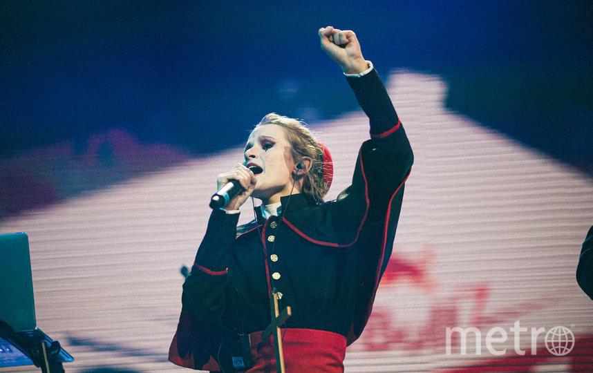 "Noize MC исполнил трек ""Чайлдфри"" с Монеточкой. Фото Кирилл Умрихин, Предоставлено организаторами"