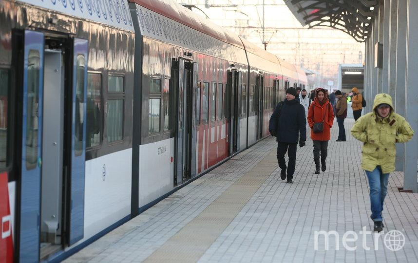 С 25 ноября по 8 декабря проезд на МЦД будет бесплатным. Фото Василий Кузьмичёнок