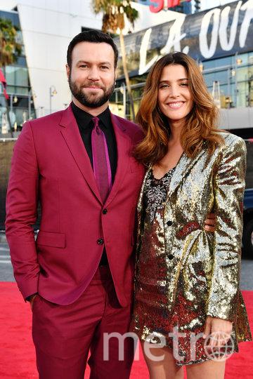 Коби Смолдерс и её муж Таран Киллэм. Фото Getty