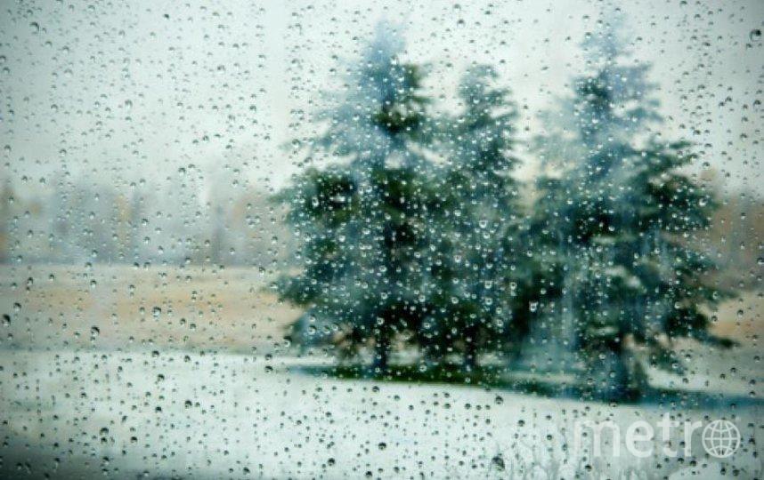 Осадки будут в виде мокрого снега. Фото Getty