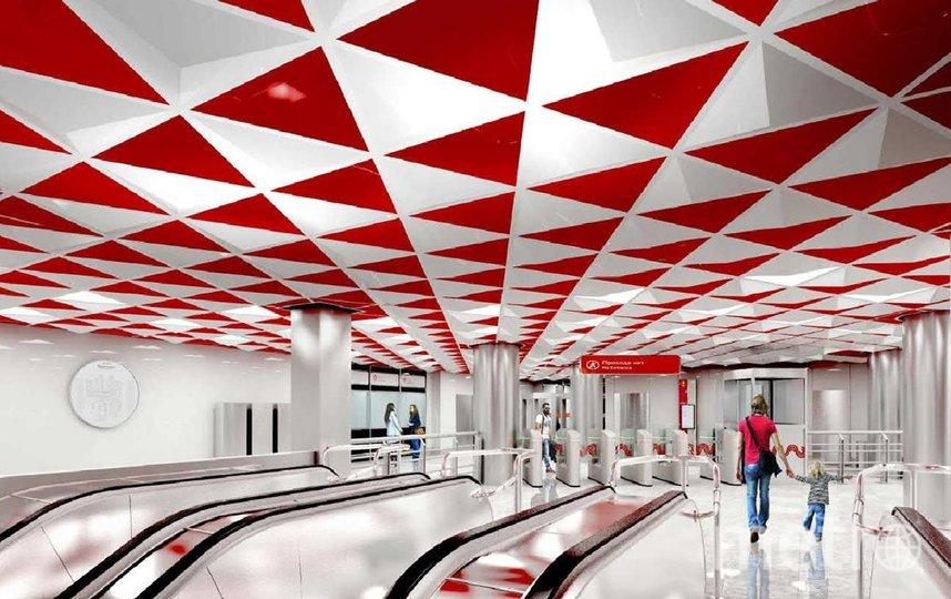 """Проект. Фото предоставлено пресс-службой Москомархитектуры, """"Metro"""""""