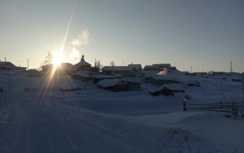 Село Мутный Материк. Фото предоставила Полина Вокуева