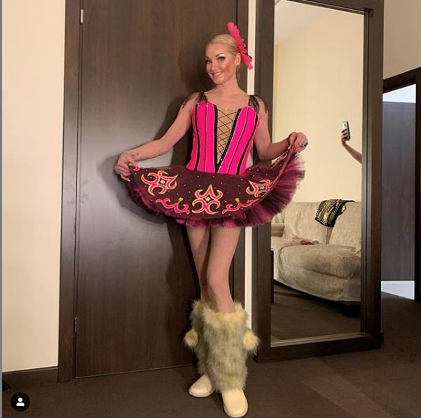 Анастасия Волочкова. Фото https://www.instagram.com/volochkova_art/?hl=ru