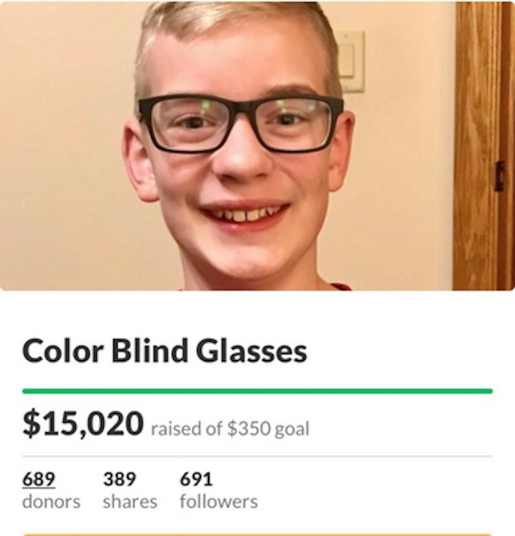 Вместо 350 долларов семье удалось собрать больше 15 тысяч. Фото скриншот twitter.com/BenJones_5
