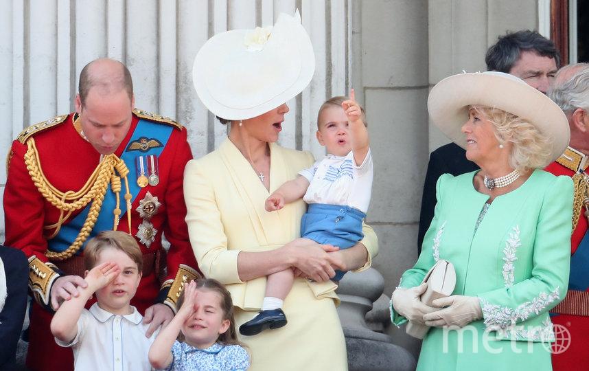Кейт Миддлтон с семейством. Фото Getty