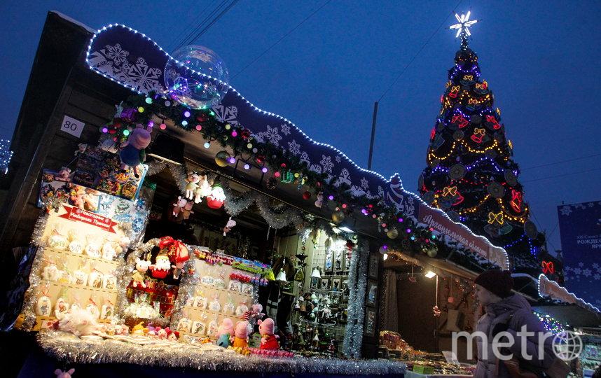 Рождественская ярмарка должна открыться уже через две недели. Фото Роман Пименов, Интерпресс