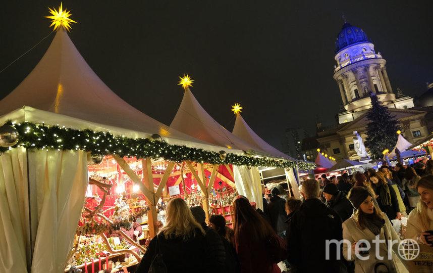Жандарменмаркт в Берлине. Рождество - через месяц. Фото Getty