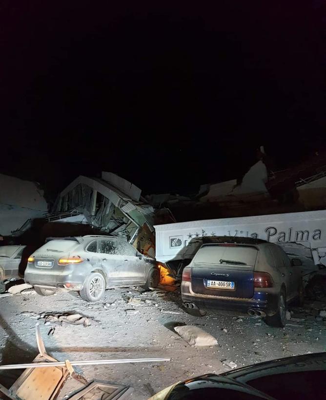 Последствия землетрясения. Фото скриншот https://twitter.com/1inva