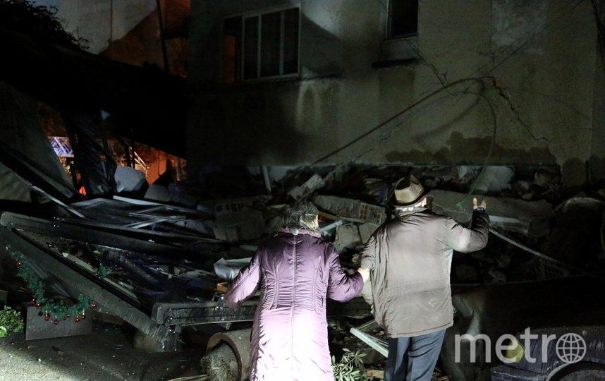 Последствия землетрясения. Фото AFP