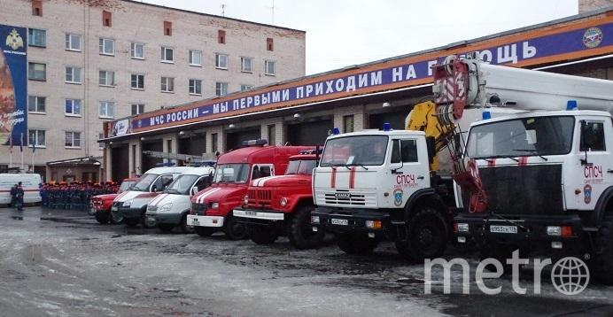 """МЧС Петербурга. Фото """"Metro"""""""