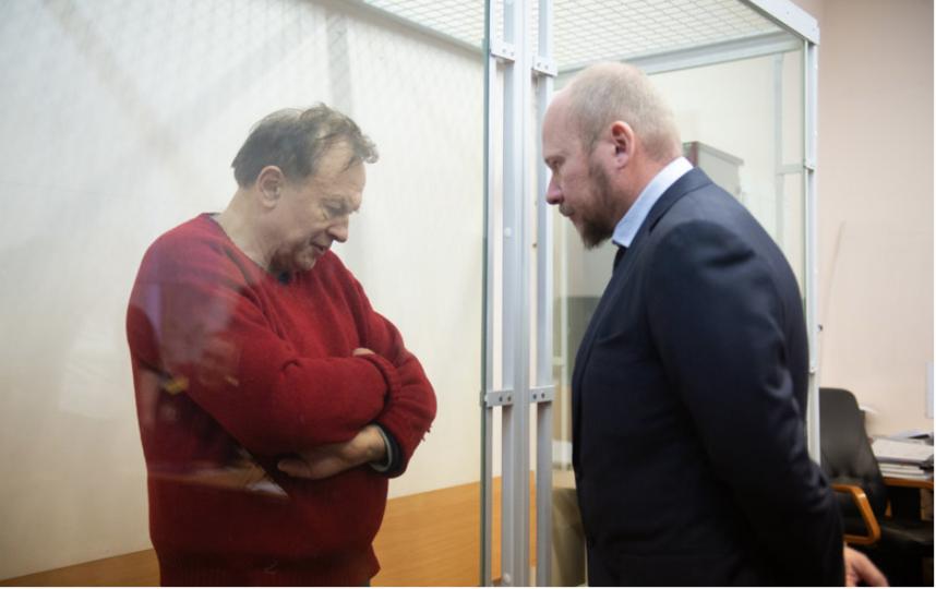 """Историк пока содержится в изоляторе в Петербурге. Фото Святослав Акимов, """"Metro"""""""