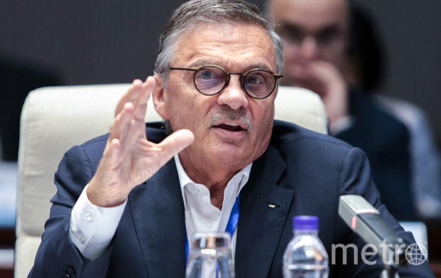 Рене Фазель выступил против переноса чемпионата мира по хоккею 2023 года из России. Фото Getty