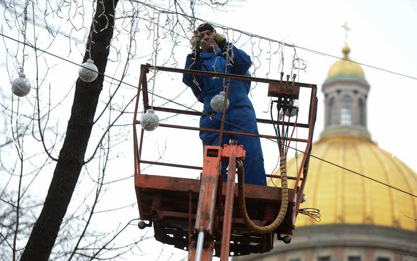 """В Смольном рассказали, как пройдут новогодние праздники в Петербурге. Фото Фотоархив, """"Metro"""""""