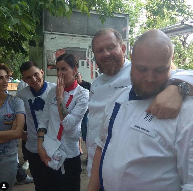 Максим Гоголь, фотоархив. Фото скриншот www.instagram.com/erickkartman/