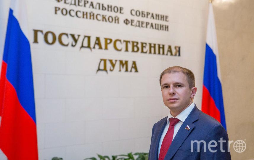 """Член фракции """"Единая Россия"""" Михаил Романов."""