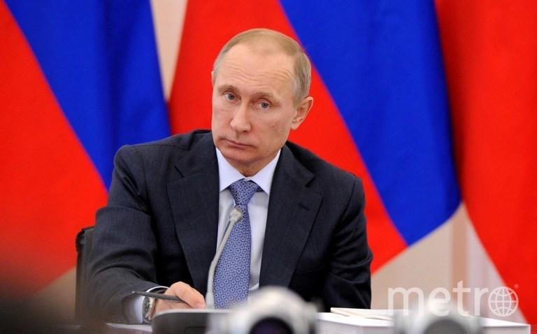 Путин весь день проведет в Петербурге. Фото Getty