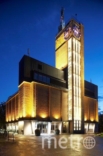 Ювяскюля. Водонапорная башня Весилинна. На самом верху - смотровая площадка. Фото Keijo Penttinen, Предоставлено организаторами
