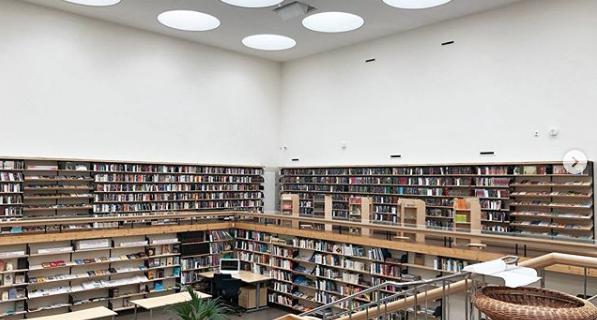 Библиотека в Выборге.