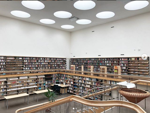 Библиотека в Выборге. Фото Instagram.com/dianova_olga_/, Предоставлено организаторами