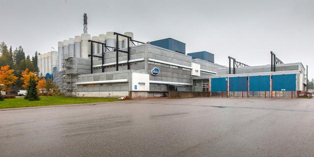 Завод Valio в Ювяскюля.