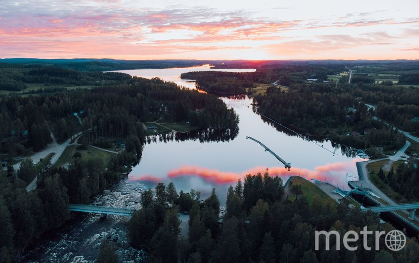 """Ювяскюля - озерный регион. Фото Julia_Kivela, """"Metro"""""""