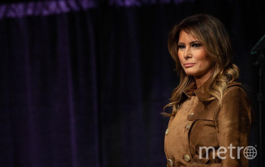 Мелания Трамп на саммите в Балтиморе. Фото AFP