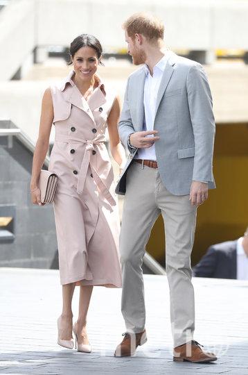 Меган и Гарри после помолвки. Фото архив, Getty