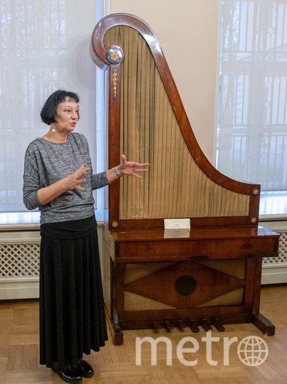 """Пианино-жираф было популярно в XVIII–XIX веках. Такой инструмент занимает меньше места. Фото Алена Бобрович, """"Metro"""""""
