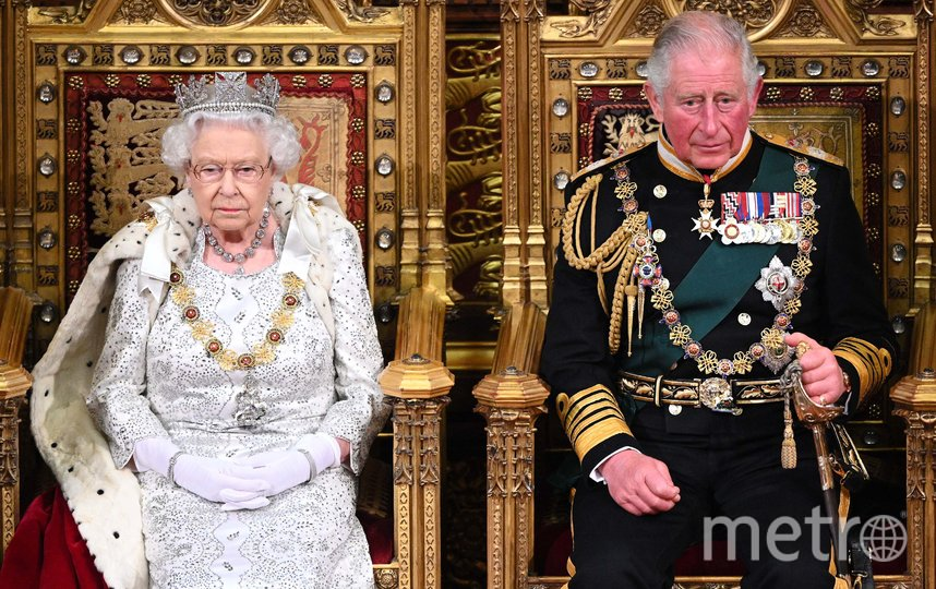 Королева Елизавета и принц Чарльз. Фото Getty