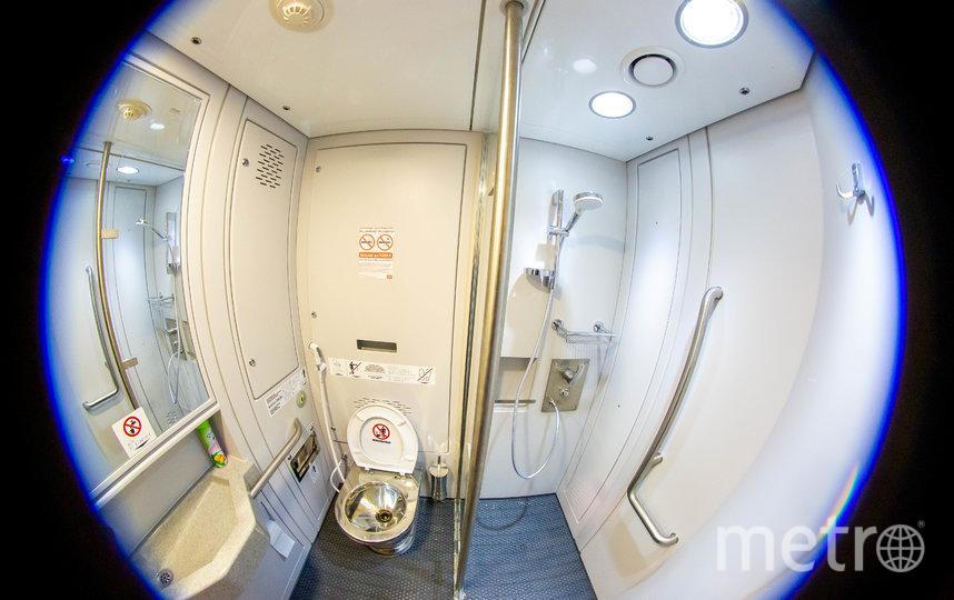 Туалет и душ. Фото предоставлены пресс-службой ФПК