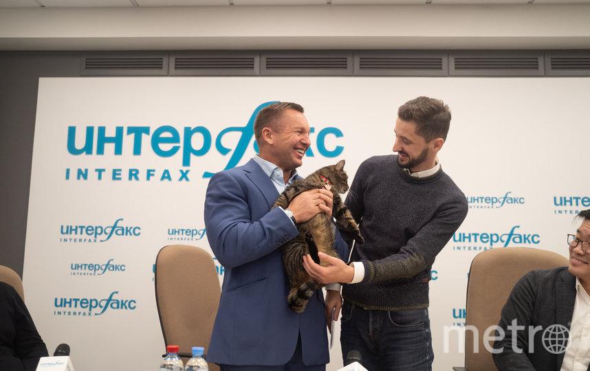 Юрий Голубев и Михаил Галин. Фото Алексей Воробьев.