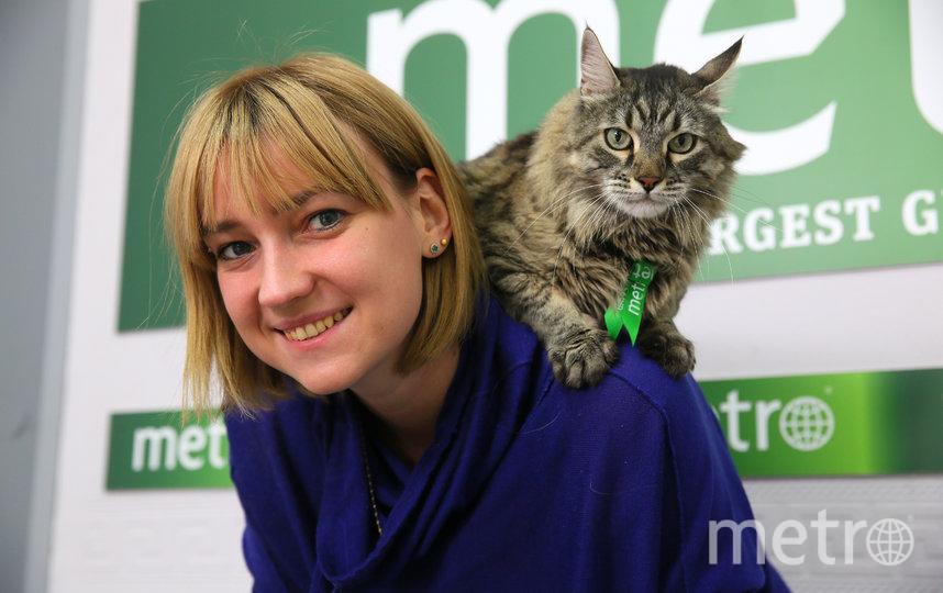 Бася-блогер, редактор выпуска Metro-Москва о домашних животных. Фото Василий Кузьмичёнок