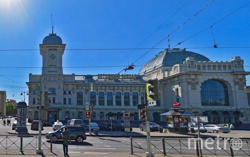Вокзал в Петербурге. Фото Яндекс.Панорамы