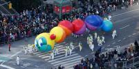 Ветер похулиганил на параде гигантских шаров в Нью-Йорке: фото