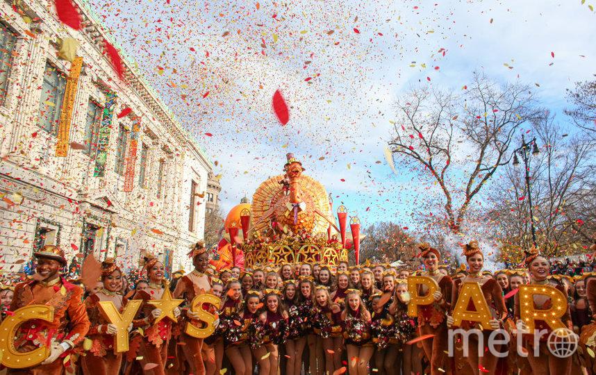 Парад гигантских шаров проводится в День благодарения в Нью-Йорке с 1927 года. Фото Getty