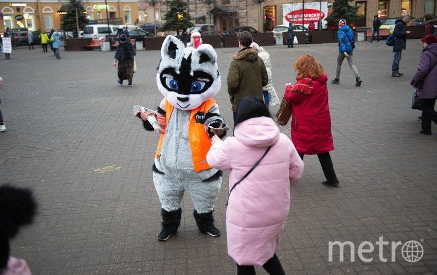 """Ростовые куклы очень понравились петербуржцам. Фото Святослав Акимов, """"Metro"""""""