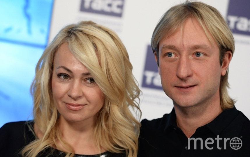 Яна Рудковская и Евгений Плющенко. Фото РИА Новости
