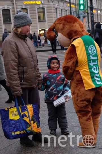 """Ростовые куклы очень понравились петербуржцам. Фото Дарья Кашина, """"Metro"""""""
