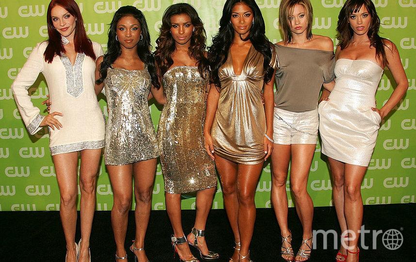 Группа The Pussycat Dolls в разные годы. Фото Getty