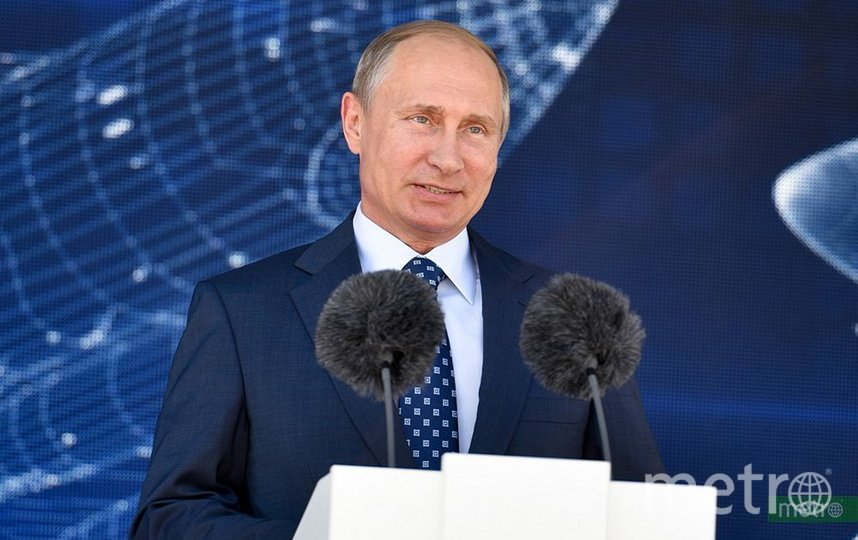 Владимир Путин. Фото Василий Кузьмичёнок