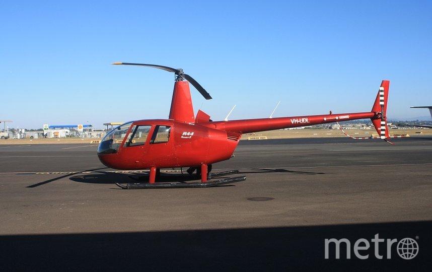 Вертолет Robinson, архивное фото. Фото pixabay.com/bennett6660