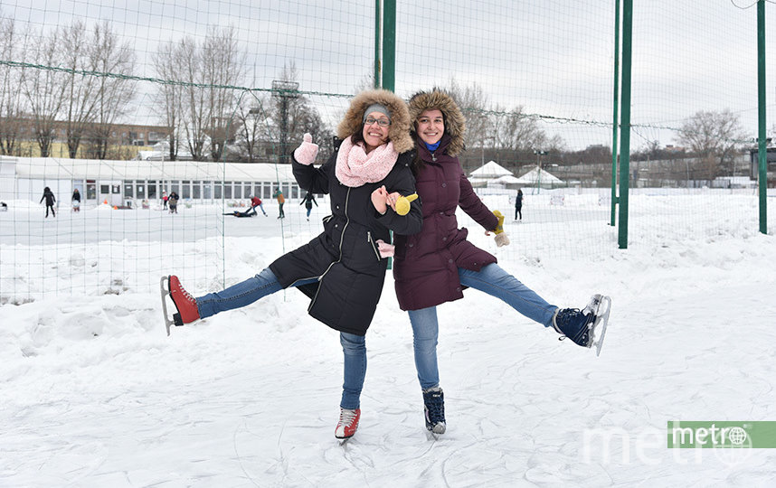 На западе Москвы откроется более 100 катков. Архивное фото. Фото Василий Кузьмичёнок
