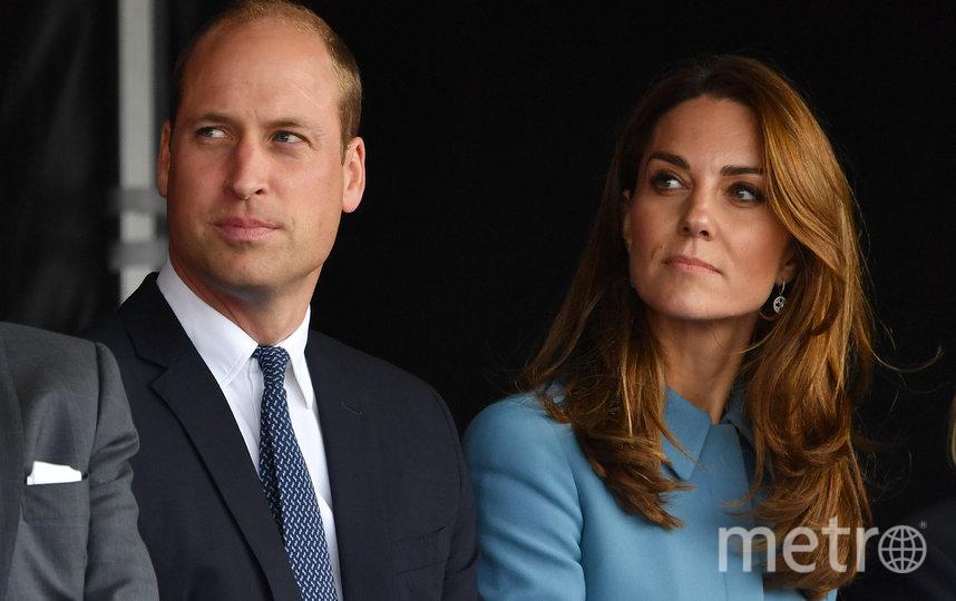 Кейт Миддлтон и принц Уильям. Архивное фото. Фото AFP