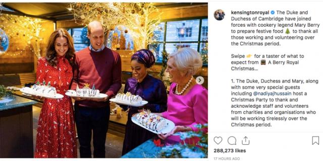 Кейт Миддлтон и принц Уильям приняли участие в кулинарном шоу.