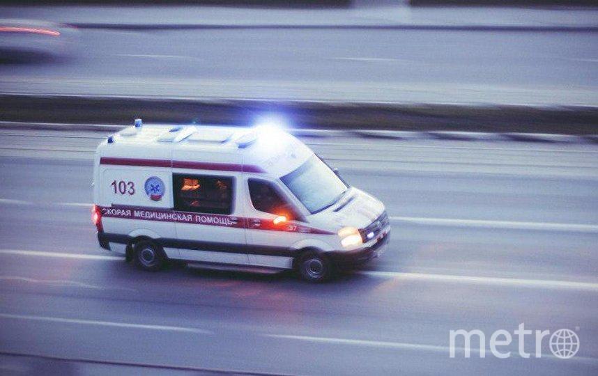 """Водитель не справился с управлением, совершил выезд на встречную полосу движения. Фото """"Metro"""""""