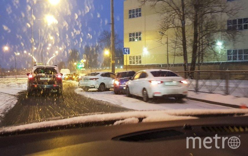 Перекресток Пискаревского и Руставели. Фото ДТП и ЧП | Санкт-Петербург | vk.com/spb_today., vk.com