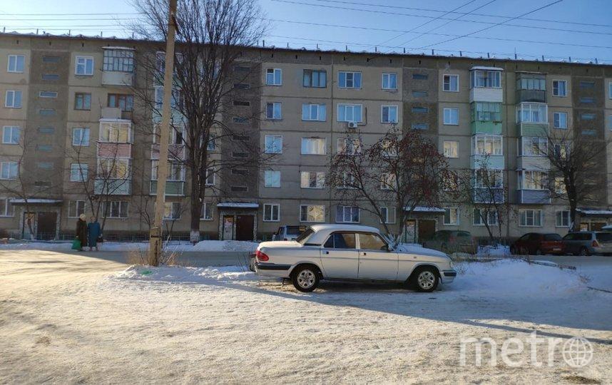 Дом, где всё произошло. Фото 54.mchs.gov.ru